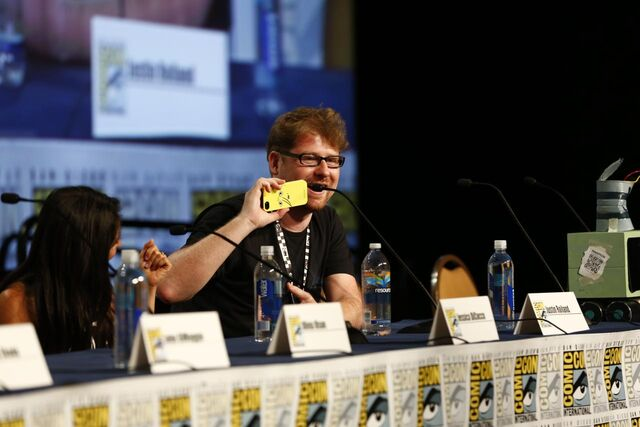 File:Adventure Time Panel at SDCC14 14.JPG