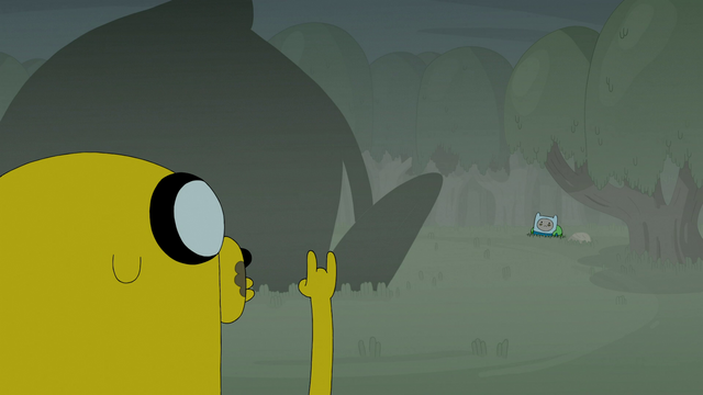 File:S4e23 Jake doing the horns.png