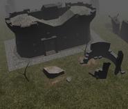 Isle of Prisoners, Barracks external