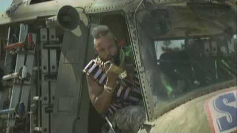 Mr. T Snickers Helicopter and Pool Advert Mr. T is Back!-1