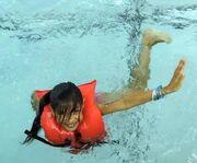 Shresty Biswa lifejacket