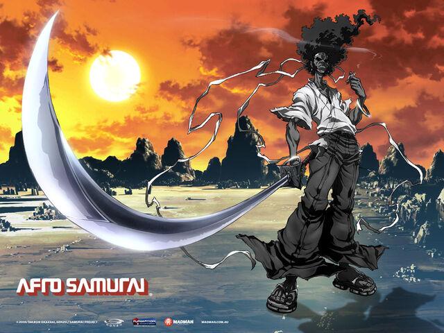 File:Afro Samurai Anime.jpg