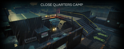 Close Quarters Camp Map