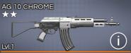 AG 10 Chrome 2 star