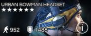 Urban Bowman Headset