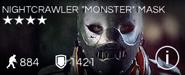 "Nightcrawler ""Monster"" Mask"