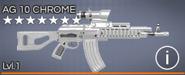 AG 10 Chrome 7 star