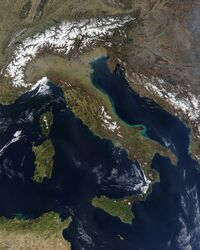 Satellite Italy