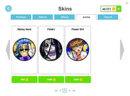 Skins-shop-anime