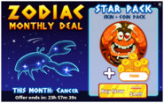 Zodiac Monthly Deal - Cancer