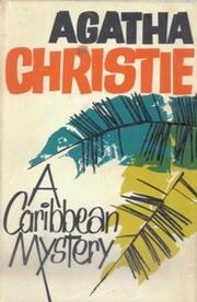 A Caribbean Mystery First Edition Cover 1964