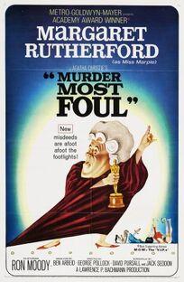 Murder Most Foul FilmPoster