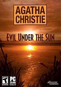 Agatha Christie - Evil Under the Sun Coverart