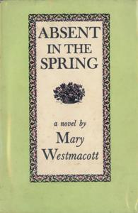 File:Absent in the Spring First Edition Cover 1944.jpg