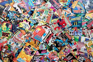 Comic Pile