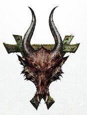 Horned Rat Head