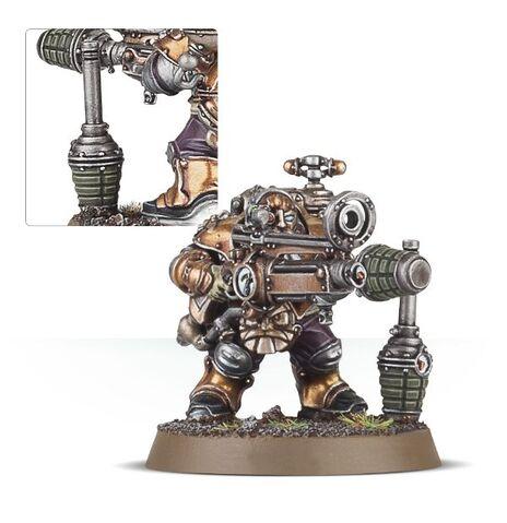 File:Grundstok Thunderer mortar Kharadron miniature.jpg