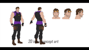 Agents of Mayhem Hollywood Concept 9
