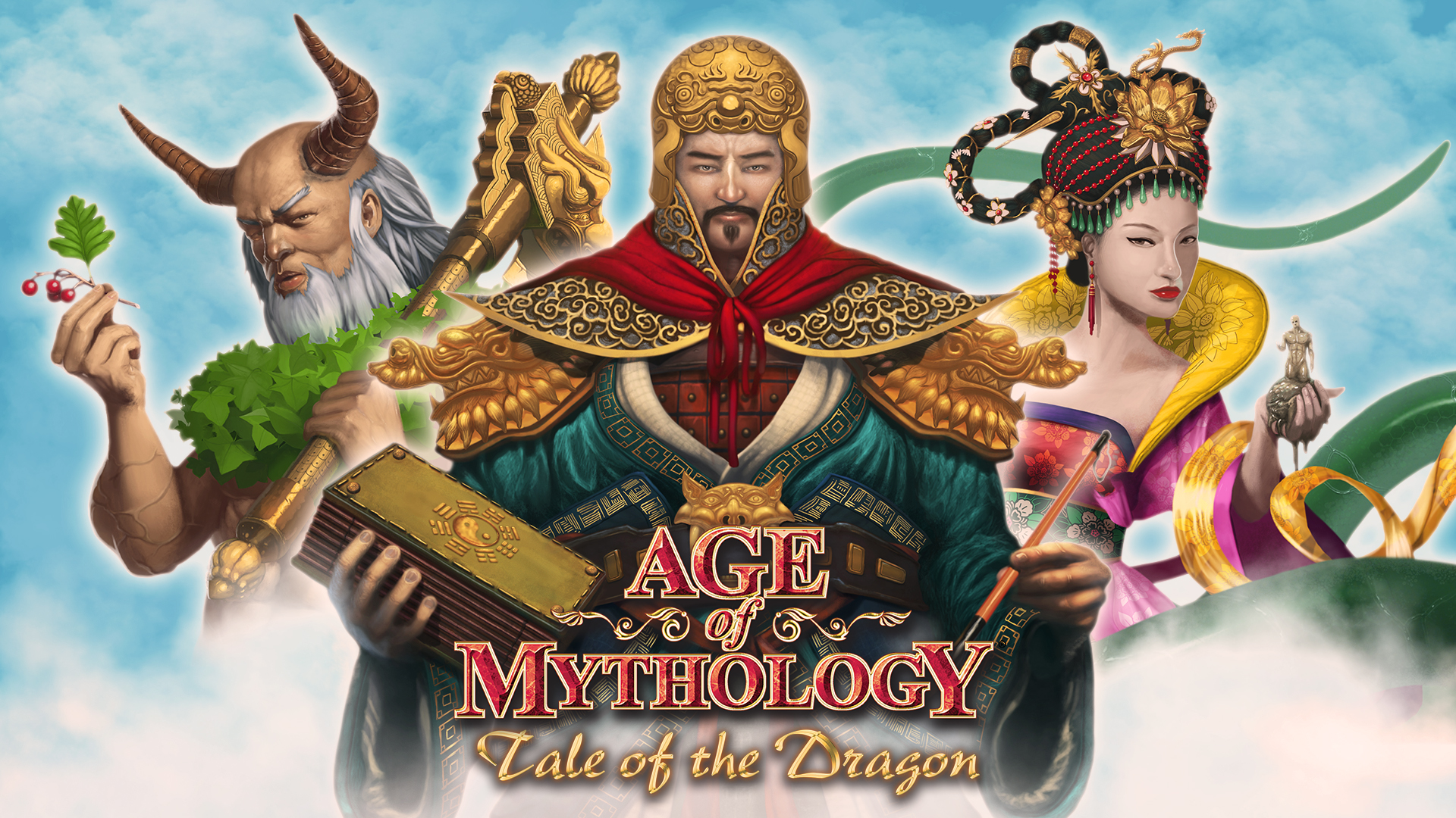 Download Game Age of Mythology Tale of the Dragon PC
