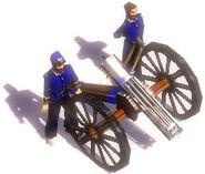 Gatling Gun Limber