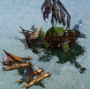 Bandit catamaran