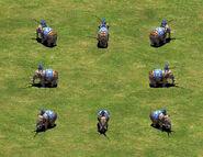 Battle Elephant group