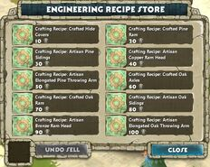 Store - Engineering Recipe Store