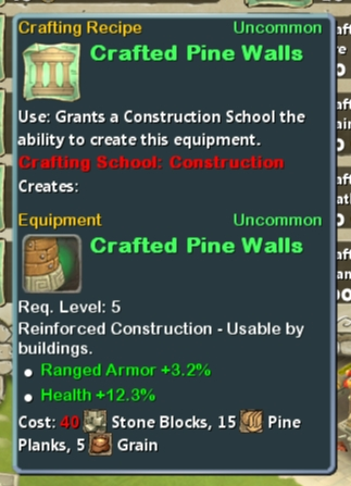 CR Con 05 Crafted Pine Walls