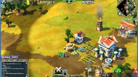 Age Of Empires Online Walkthrough - Pt.179 Greek - Defeat Ledrai (I)