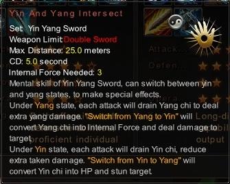 (Yin Yang Sword) Yin And Yang Intersect (Description)