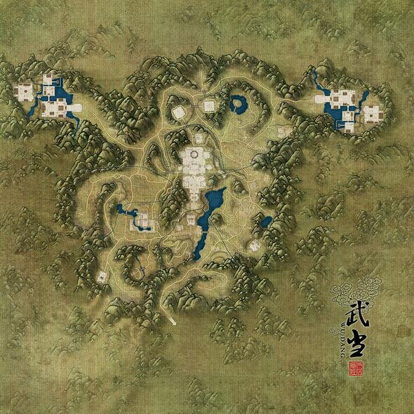 Wudang Map