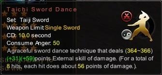 (Taiji Sword) Taichi Sword Dance (Description)