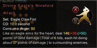 Divine Eagle's Ninefold Attack