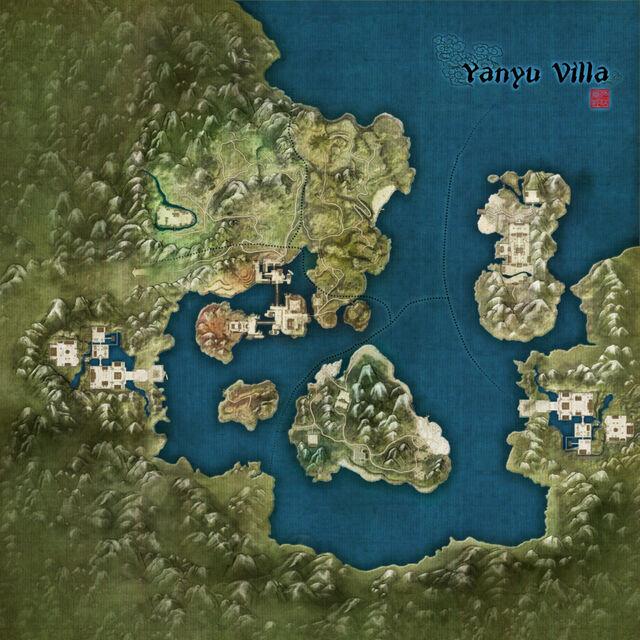 Yanyu Villa Map