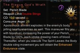 (Perish Blade) The Plague God's Wrath (Description)