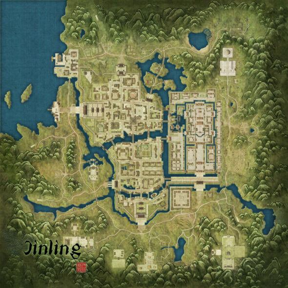 Jinling Map