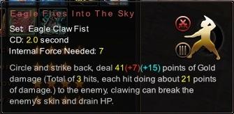 (Eagle Claw Fist) Eagle Flies Into The Sky (Description)