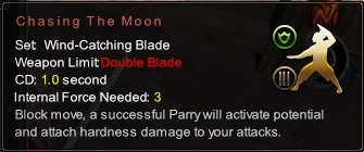 (Wind-Catching Blade) Chasing The Moon (Description)