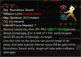(Boundless Sword) Hollow (Description)