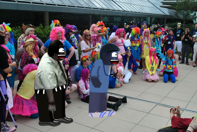 File:AGK and AGK's Dad on MLP Convention.jpg
