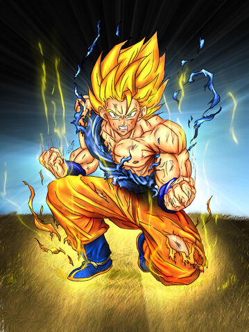 File:Goku SSJ by Dpredfire.jpg