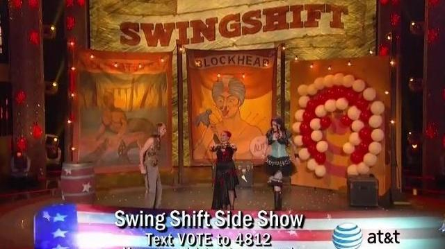 Swing Shift Side Show ~ America's Got Talent Wild Cards Compete