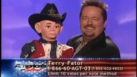 America's Got Talent Season 2 - Terry Fator - Finale Act 1