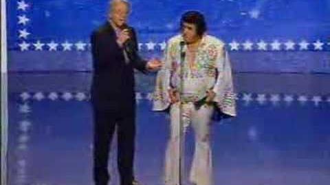 Elvis wannabe on AGT