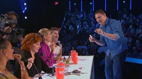 America's Got Talent 2016 Steven Brundage Rubik's Magic Is Real Full Judge Cuts Clip S11E09