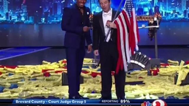 Eric Buss, YouTube Show ~ America's Got Talent 2012-0