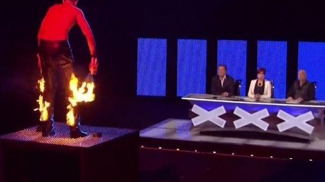 Danger Acts ~ America's Got Talent 2011, Vegas Week day 1
