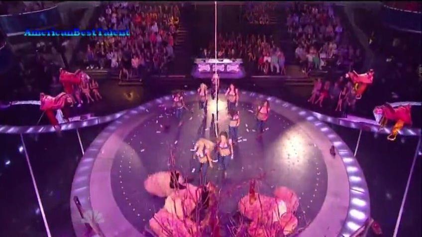 Purrfect Angelz, Top 48 (Q3) ~ America's Got Talent 2011 LIVE