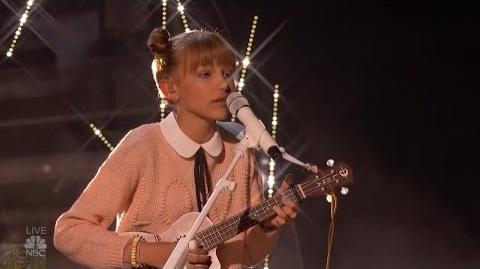 America's Got Talent 2016 Semi-Finals Grace Vanderwaal S11E18