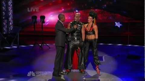 Americas Got Talent season 4 Mario&Jenny Fire